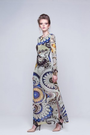 vestido-longo-estampado-tule-manga-longa-the-best-brand-inverno-2016-divinopolis-mg
