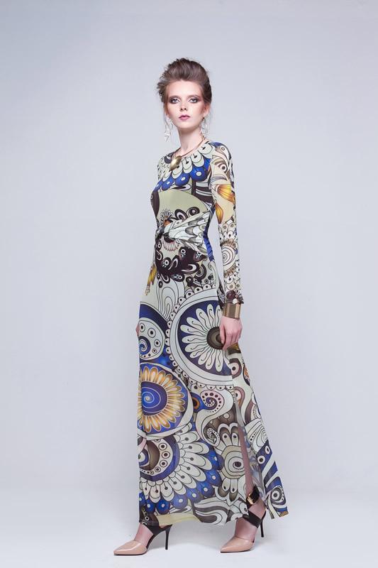 c0a8348f23 vestido-longo-estampado-tule-manga-longa-the-best-
