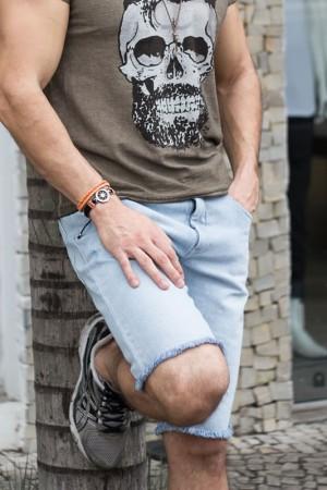 Bermuda Jeans Masculina | Bermudas Masculinas | Divinópolis