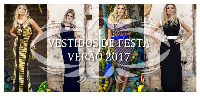Vestidos de Festa Verão 2017