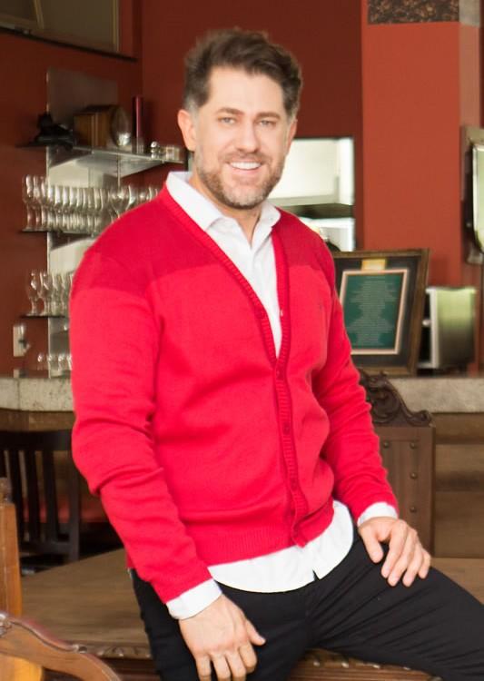 Casaco Cardigã Masculino. Roupa masculina na loja The Best Brand, em Divinópolis-MG .
